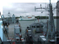 RFA Sir Galahad and HMS Atherstone,and Inishmore May 20th 2006